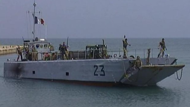 TF1/LCI : Débarquement au Liban de 50 soldats français devant participer à la Finul renforcée
