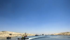 Egypte : extension du Canal de Suez, juillet 2015