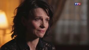 Extrait Sept à Huit : Juliette Binoche en larmes à l'évocation des attentats