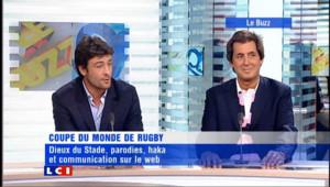Le Buzz (2/2) du 30 septembre 2011 : Le rugby investit le web