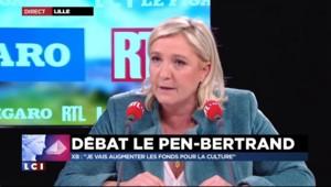 """Marine Le Pen : """"Je ne vais pas financer le géant Miss Burqa"""""""