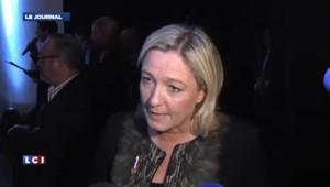 """Marine Le Pen : """"la ligne que je porte est une ligne gagnante"""""""
