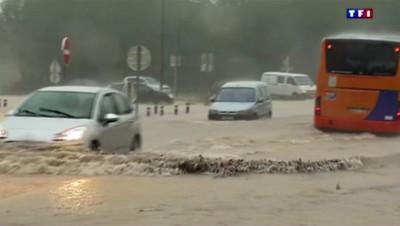 Orages à Lodève, le 17 septembre 2014