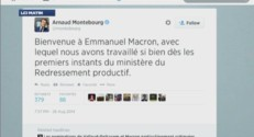 tweet montebourg remaniement