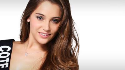 Charlotte Pirroni, Miss Côte D'Azur 2014, prétendante au titre de Miss France 2015