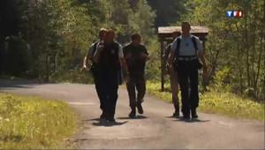 Chevaline : des gendarmes sur les lieux du crime