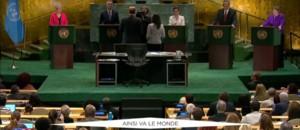 Le débat des candidats à la tête de l'ONU retransmis à la télévision