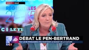 """Marine Le Pen : """"Le conseil régional n'est pas un guichet à subventions"""""""