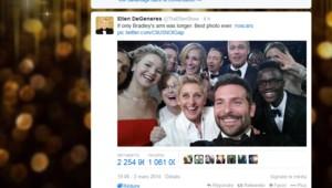 Oscars : Le tweet historique d'Ellen DeGeneres