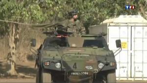 Un véhicule de l'armée française au Mali durant l'opération Serval.