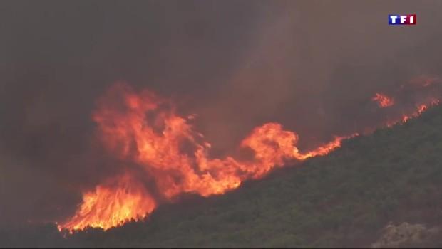 Incendie en Corse : le village Poggio-d'Oletta reste menacé