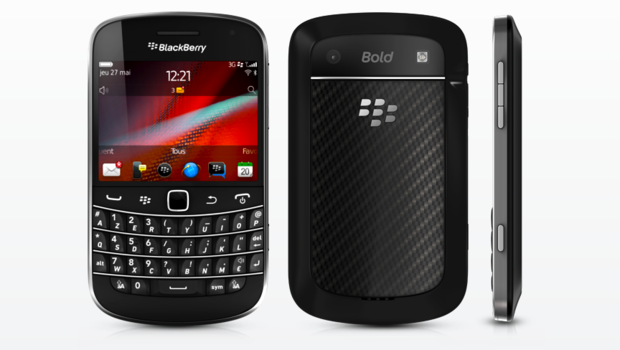 Le blackberry 9900, lancé en 2011