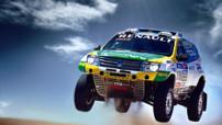 Le Duster de Renault pour le Dakar 2015, équipé d'un V8 de 380 ch.
