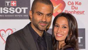 Tony Parker et sa fiancée Axelle