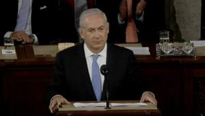 Benjamin Netanyahu, le 24 mai 2011