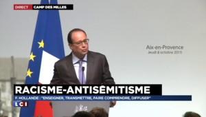 """François Hollande : """"La mémoire citoyenne est celle qui réconcilie"""""""
