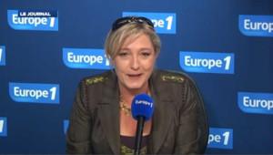 """Mélenchon est un """"SCF"""", pour Marine Le Pen"""