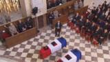 Afghanistan : Hollande et Sarkozy réunis pour un hommage national