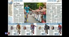 Canicule, Grèce, Tour de France ... La revue de presse du samedi 4 juillet
