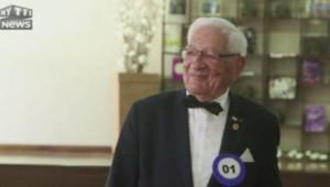Concours du plus beau vieil homme à Sao Paulo