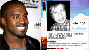 Kanye West Twitter Steve Holmes