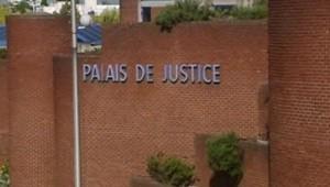 Le Palais de Justice de Bobigny. TF1/LCI