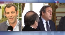"""Platini suspendu, """"un coup de tonnerre"""" voire """"un coup d'arrêt"""""""