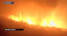 200 hectares ravagés en Grèce