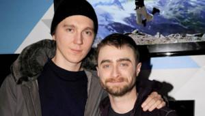 Daniel Radcliffe et Paul Dano au festival Sundance le 24 janvier 2015.