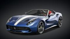 Ferrari F60 America, modèle dérivé de la F12berlinetta au V12 740 ch et éditée à 10 exemplaires pour les États-Unis à l'automne 2014