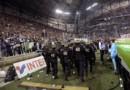 L'Olympique de Marseille sanctionné d'un huis-clos partiel de son stade Vélodrome par la LFP suite aux incidents de OM/OL