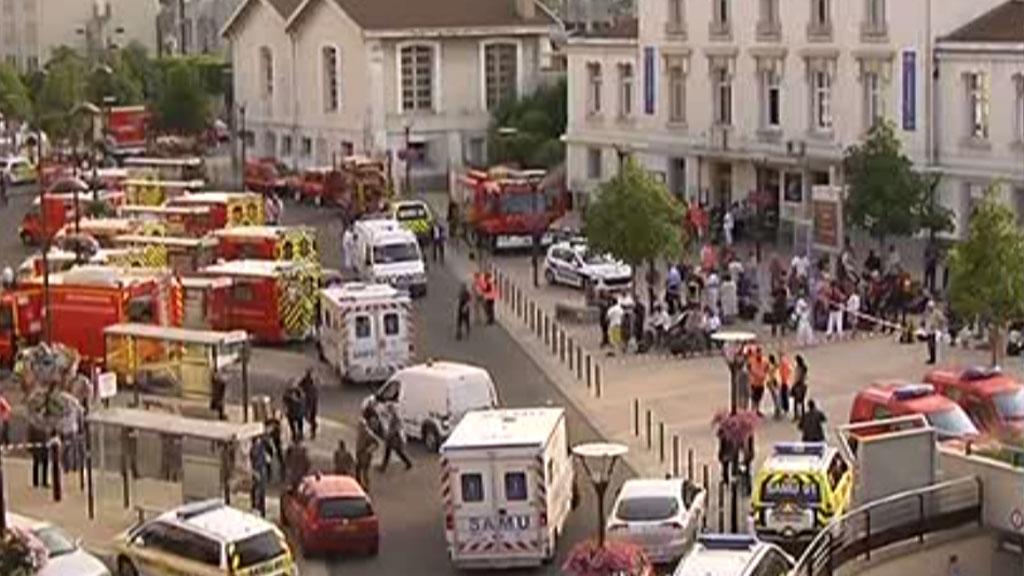 Accident mortel en gare de Brétigny dans l'Essonne.