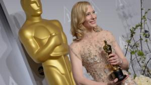 Cate Blanchett, Oscar 2014 de la meilleure actrice pour Blue Jasmine