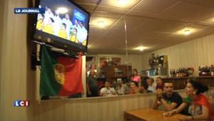 Euro 2012 : déception des Portugais après la défaite face à l'Espagne