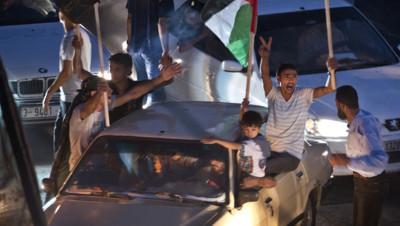 Gaza : joie après le cessez-le-feu avec Israël, 26/8/14