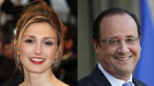 Julie Gayet / François Hollande (montage)