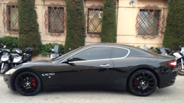 photos automoto jeu concours la maserati granturismo en photos mytf1. Black Bedroom Furniture Sets. Home Design Ideas