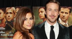 Ryan Gosling et Eva Mendes à l'avant-première de The Place Beyond the Pines le 28 mars 2013