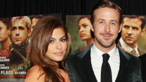 Ryan Gosling et Eva Mendes à l'avant-première de The Place Beyond the Pines le 28 mars 2013