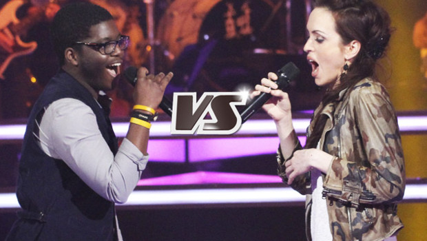 Sean contre Rachel Claudio - The Voice 2