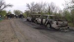 Ukraine : fusillade à Slaviansk, 20/4/14