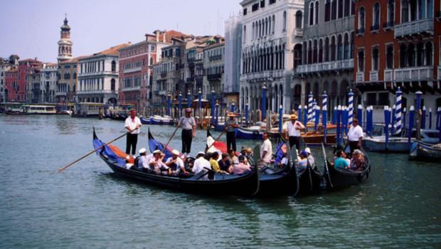 Une gondale à Venise