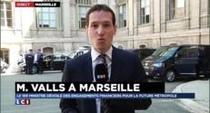 A Marseille, Manuel Valls vient détailler les engagements financiers de la future métropole