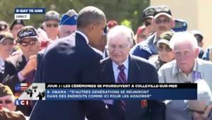 Anniversaire du Débarquement : Obama a une pensée pour son grand-père