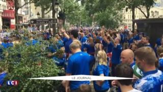 """Euro 2016 : le """"clapping"""", la signature """"pas très viking"""" des Islandais"""