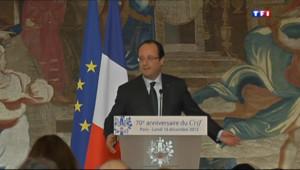 Le 20 heures du 22 décembre 2013 : Hollande regrette sa blague sur l%u2019Alg�e - 465.233