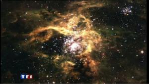 Partis à la recherche des premières traces du big bang