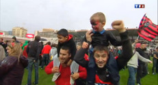 Le 13 heures du 19 mai 2013 : Rugby : la liesse oulon aprla victoire en Coupe d&#039;Europe - 749.0164999999998