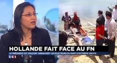 """Montée du FN : """"Il faut prendre la question de front"""" pour la porte-parole du PS"""