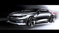 Esquisse Avant de la Kia Optima 2016
